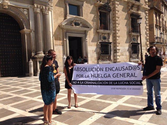 Grupo de apoyo jurídicos a condenados por un piquete