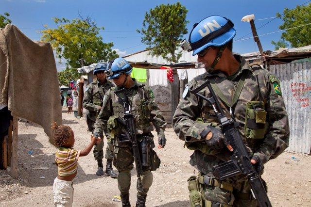 Misión de la ONU en Haití