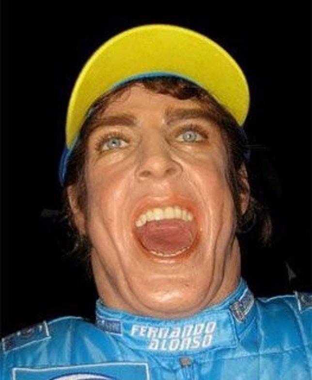 El muñeco de cera de Fernando Alonso