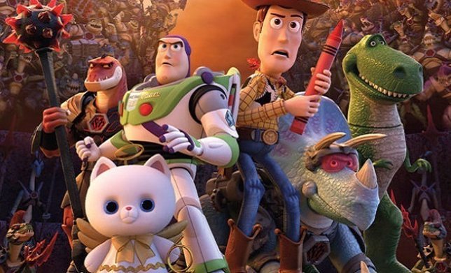 Primer cartel del especial de navidad de Toy Story