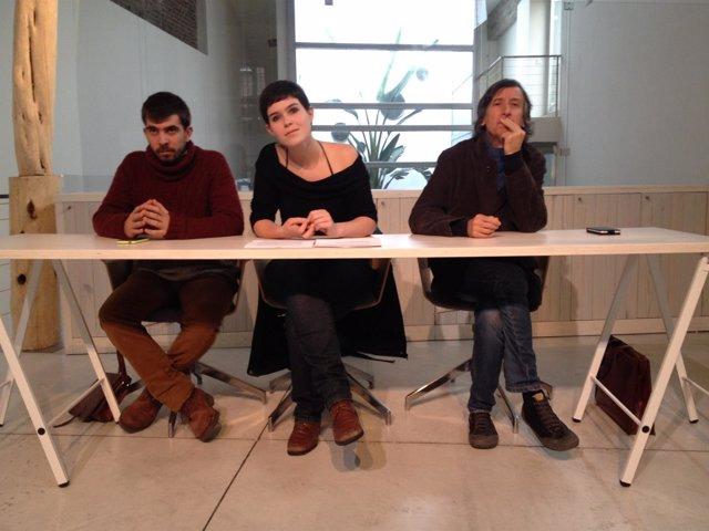 Miembros del equipo de Podemos 'Construyendo Pueblo'