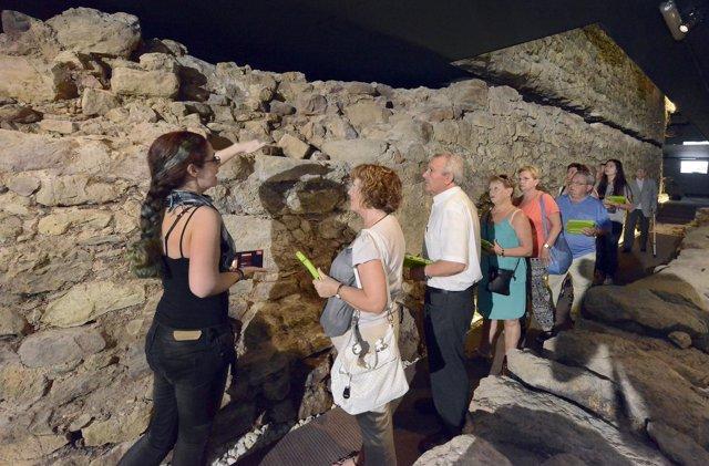 Visitas al Centro Arqueológico de la Muralla de Santander