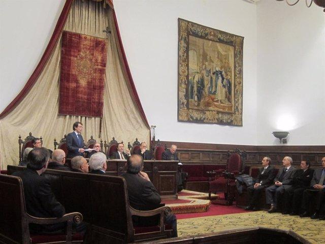 Paraninfo de la Universidad de Salamanca.