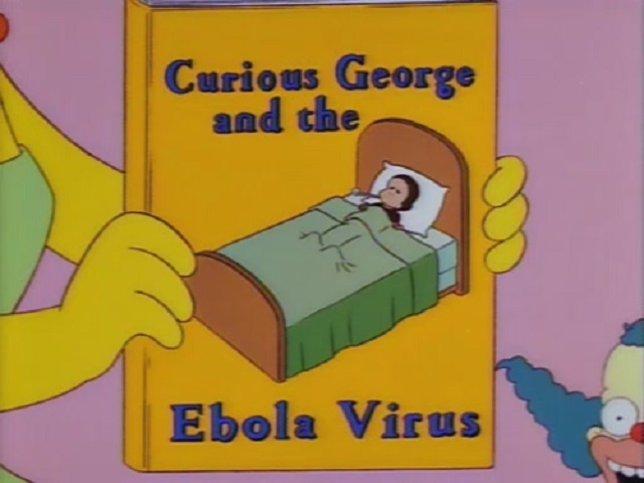 El curioso George y el virus del Ébola