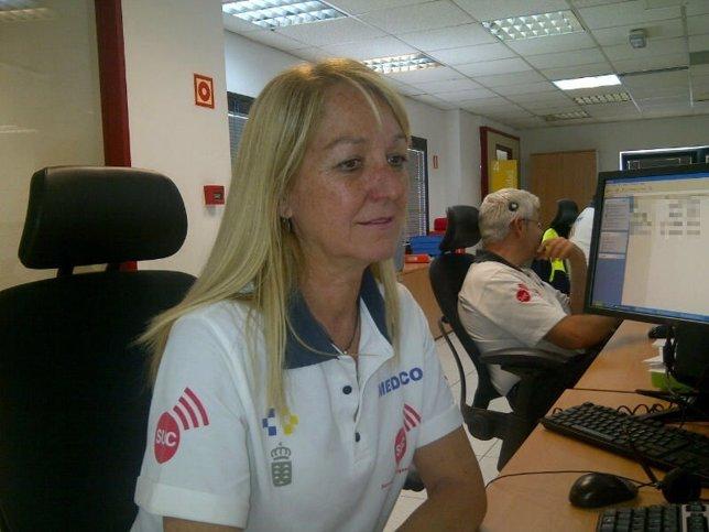 Medico coordinadora del Servicio de Urgencias Canario (SUC)
