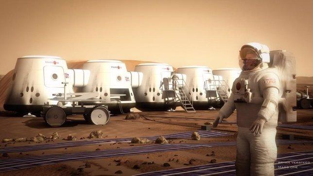Mars One proiektua hizpide Aranzadiren jardunaldietan