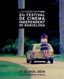 Cartel de la XXI edición del Festival 'L'Alternativa'