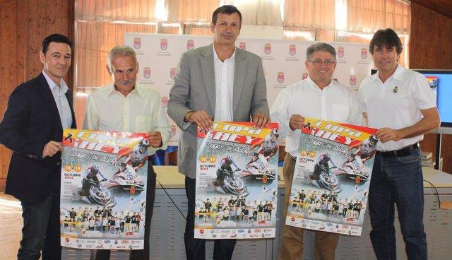 Presentación de la a Copa del Rey y 5º prueba del Campeonato de  Motos de Agua