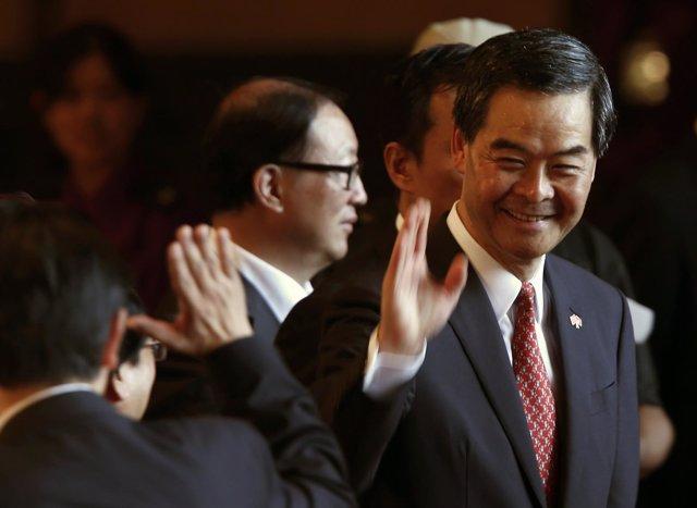 Gobernador de Hong Kong, Leung Chun Ying