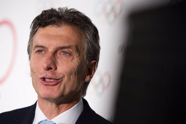Mauricio Macri, jefe de Gobierno de Buenos Aires