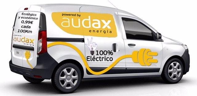 Furgoneta eléctrica de Audax Energía