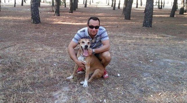 Javier Limón con Excálibur
