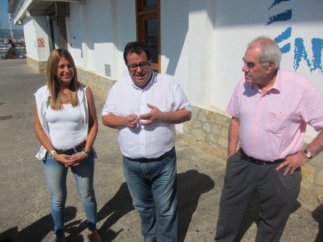 Joan Ignaci Elena y Ernest Maragall, de Avancem y NECat