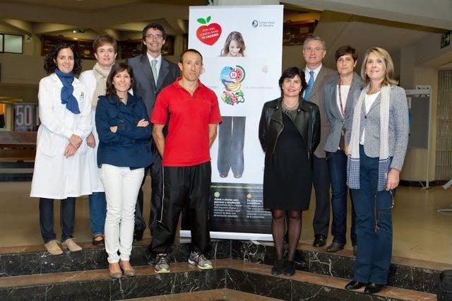 La Universidad de Navarra celebra el segundo Día de la Alimentación Saludable.
