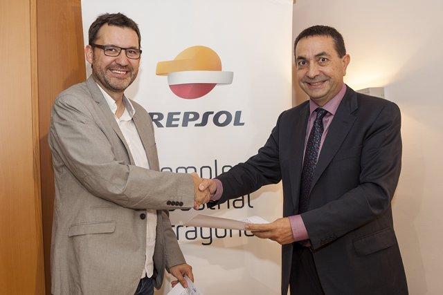 Repsol colabora con la Coordinadora de Colles Castelleres de Catalunya