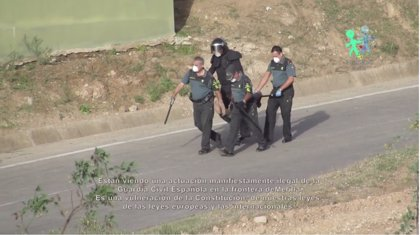 IU-ICV pide que Interior explique en el Congreso la actuación de la Guardia Civil en Melilla tras la denuncia de Prodein