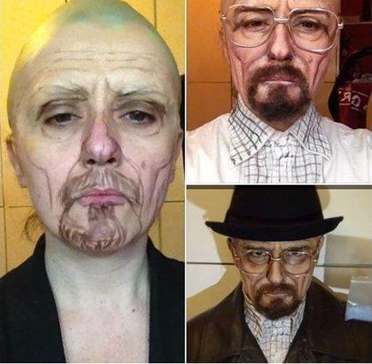 Lucía Pittalis lleva la transformación con maquillaje a un nivel Halloween