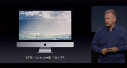 Apple presenta el nuevo iMac con pantalla retina de 27 pulgadas