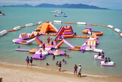 La empresa Unreal Island de islas artificiales que se usan como parques acuáticos abre oficinas en Panamá y Londres