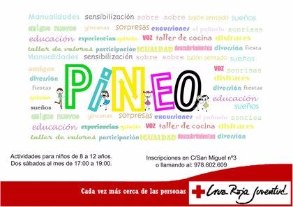 Cruz Roja Juventud Teruel inicia el proyecto PiNeo