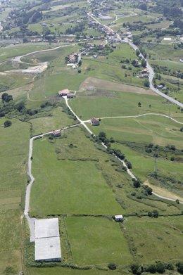 Autovía del Agua. Conexión con Camargo