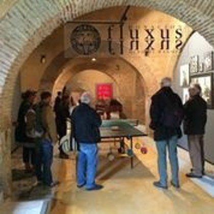 Medios de comunicación germanos visitan el legado de los alemanes Wolf Vostell y Helga de Alvear en Cáceres