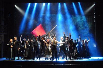 Exitoso estreno del musical 'Los Miserables' en el Auditorio Víctor Villegas de Murcia