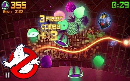 Si Fruit Ninja se llena de fantasmas, ¿a quién vas a llamar?