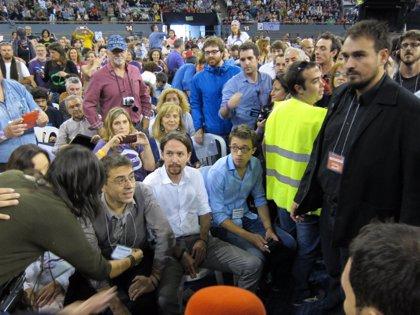 """Pablo Iglesias defiende que su modelo de partido es el """"más eficaz"""" para ganar las elecciones, frente al de Echenique"""