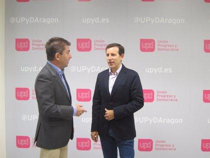 Carlos Aparicio, candidato de UPyD a la Presidencia de Aragón