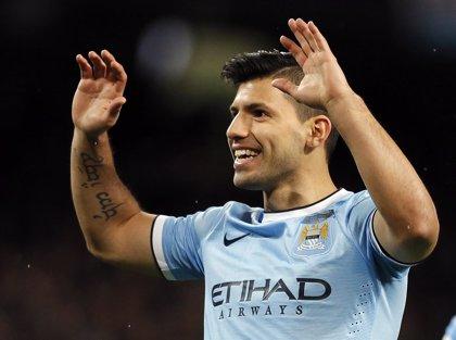 Agüero marca cuatro goles al Tottenham y supera a Tévez como máximo goleador del City