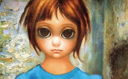 Póster oficial de Big Eyes, lo nuevo de Tim Burton