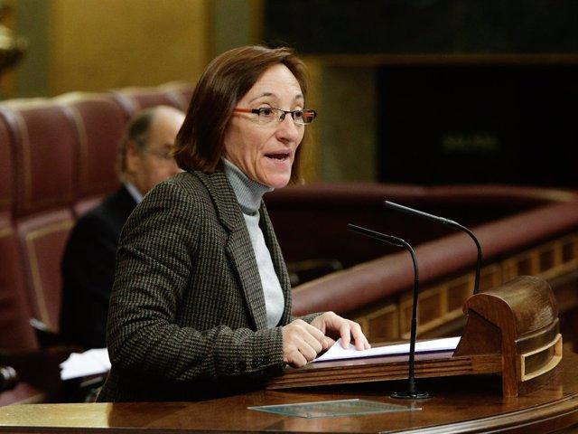 Rosana Pérez, diputada del BNG