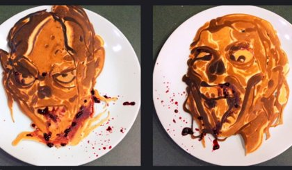 Las tortitas de The Walking Dead