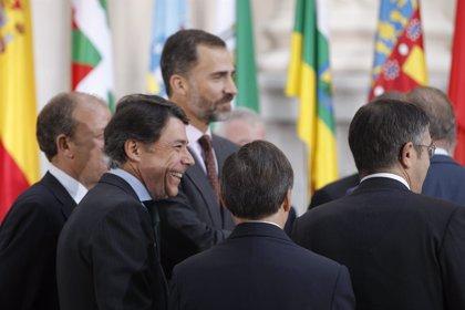 Felipe VI inicia este martes con Ignacio González una ronda con los presidentes autonómicos