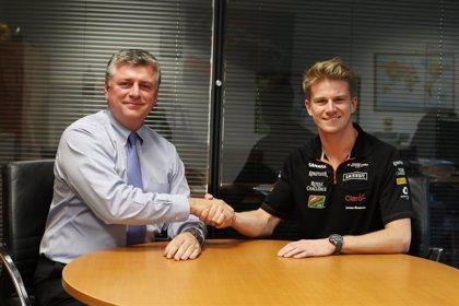 Hulkenberg renueva con Force India para la próxima temporada