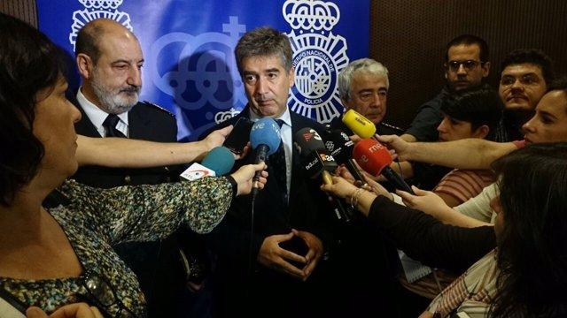 El director del Cuerpo Nacional de Policía, Ignacio Cosidó
