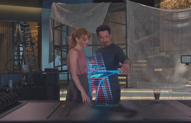 Tony Stark y Pepper Potts