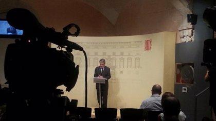 """El Govern asume una decena de compromisos con el 9N para la unidad """"técnica"""""""