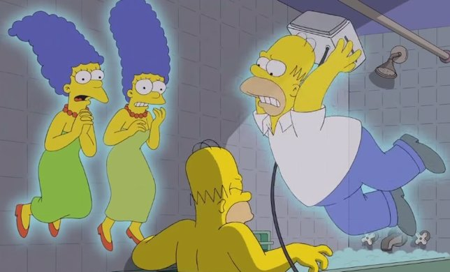 Treehouse of Horror XXV: Los Simpson y sus antepasados en Halloween