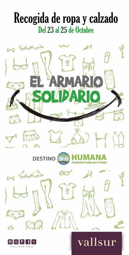 La II edición de 'El Armario solidario' llega a Vallsur entre el jueves y el sábado