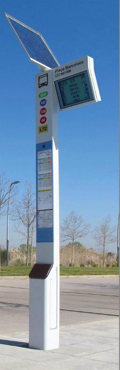 Guaguas incorporará 39 paradas con paneles de información a tiempo real