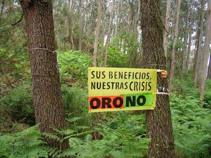 Oru Non aconceya más de 50.000 firmes pidiendo a Javier Fernández la suspensión de la esplotación minera de Salave