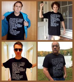 Nicolas Cage protesta contra Dying of the Light