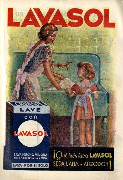 El Cedocam rescata un anuncio publicitario de 1940 de la revista 'Menaje'