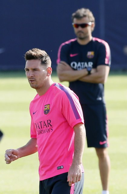 """Luis Enrique, sobre el cambio de Messi: """"Seguiré haciendo lo que he hecho"""""""