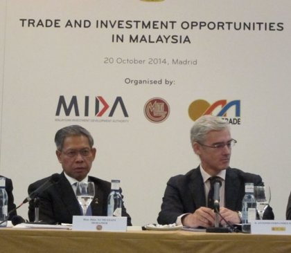 Malasia invita a las empresas españolas a invertir en sus nuevos corredores de desarrollo