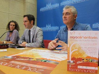 Fernán Núñez acogerá del 24 al 26 de octubre su IV Feria Agroalimentaria, 'Sabores de nuestra Tierra'