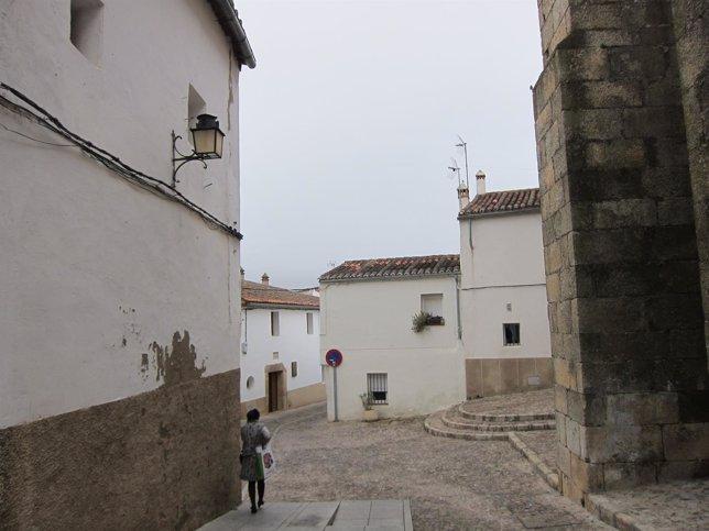 Barrio judío de Cáceres