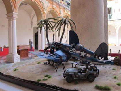 Más de 500 maquetas se pueden contemplar desde este lunes en la III Semana Modelística Histórica de Córdoba